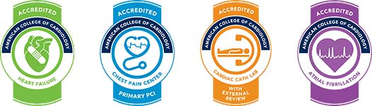 ACC Accreditation badges